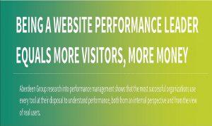 BEING A WEBSITE PERFORMANCE LEADER EQUALS MORE VISITORS, MORE MONEY