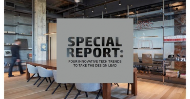 SPECIAL REPORR :FOUR INNOVATIVE TECH TRENDS TO TAKE THE DESIGN LEAD