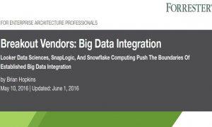 Breakout Vendors: Big Data Integration