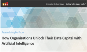 How organisations unlock their data capital with artificial intelligence