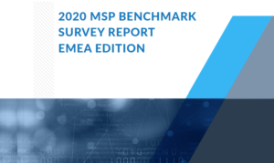 2020 MSP BENCHMARK SURVEY REPORT EMEA EDITION