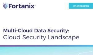 MULTI-CLOUD DATA SECURITY: CLOUD SECURITY LANDSCAPE