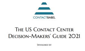 CONTACT BABEL CONTACT CENTER DECISION-MAKERS' GUIDE