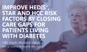 Close the gap in care by offering patients diabetic retinal exams at the point of care