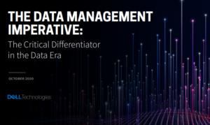 THE DATA MANAGEMENT IMPERATIVE