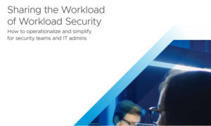 SHARING THE WORKLOAD OF WORKLOAD SECURITY