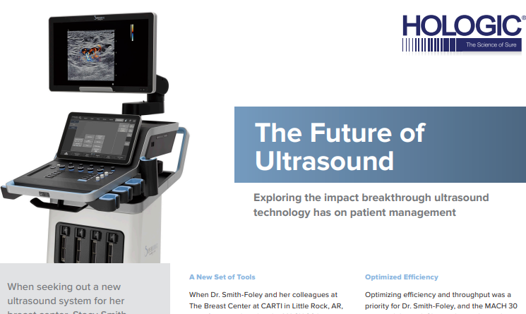 THE FUTURE OF ULTRASOUND